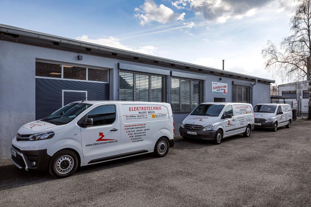 Unser Firmensitz mit Lager in Siegburg (Industriestraße)
